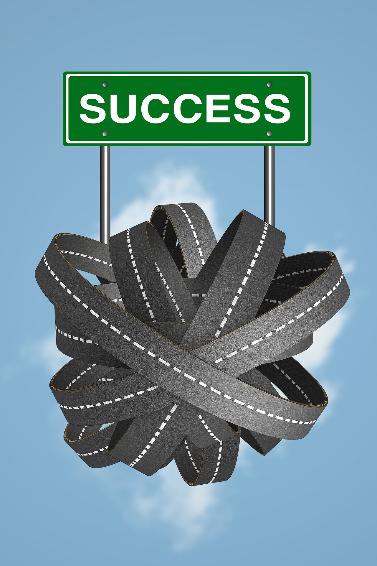 Success road to direction